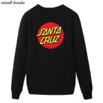 Santa Cruz Men Sweatshirt High Quality Hoodie Music Band Jacket Male Skate Brand Clothing Tracksuit Hooded Hoodies Homme
