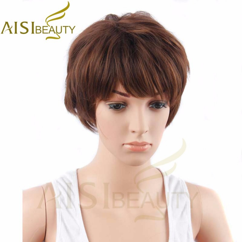Short Wigs For Black Women Pixie Cut Wig For Women Short Cheap Afro