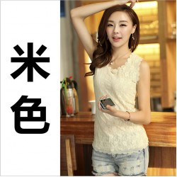 Spring Autumn Winter Women's crochet lace shirt blouse slim casual tops tees for women clothing Camisas Blusas  1pcs/lots DS24