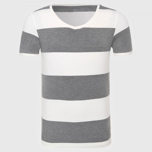 Stripe T-Shirt For Men Striped T Shirt Men