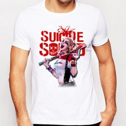 Suicide Squad T Shirt Harley Quinn T-shirt Joker Cool Novelty Funny Hip Hop Pop Tshirt Style Men Printed Fashion Hepeep Tee