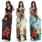Summer dress 2018 Beach Dress Long Bohemian Dress Plus Size 6XL Jupe Atacado Robe Longue Roupas femininas Long Maxi Dress
