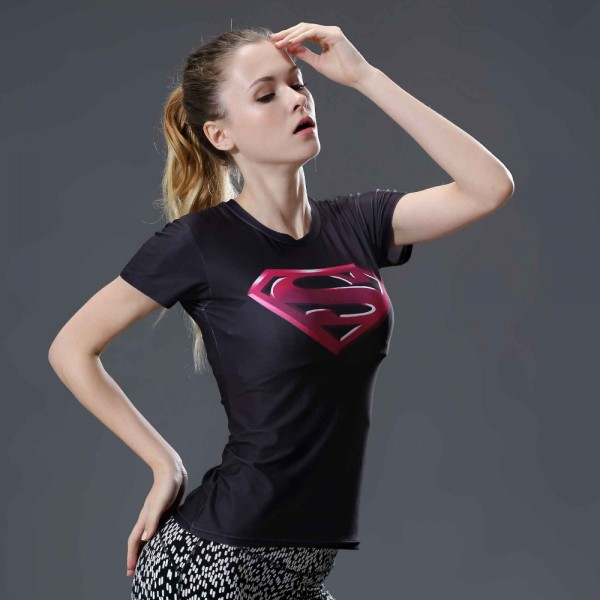 T Shirt Captain America Shield Civil War Tee 3D Printed T-shirts girl's Marvel Avengers superman Fitness Clothing women Tops