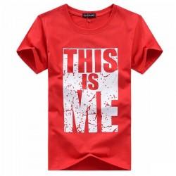 T-Shirt Men Casual T shirts Cotton Swag Short Sleeve O-Neck Print t shirt Mens Tees Camisetas Homme Hip Hop tshirt 5XL