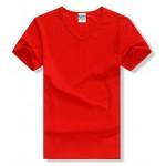 T shirt men Lycra cotton solid color casual men's V-neck t-shirt camisetas fashion T shirts 2017 New Arrival camisas hombre