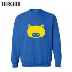 TARCHIA New Arrival Cut Pig Print Hoodies Men Casual Pullover Tracksuit Men Fashion Sportswear Sweatshirts Men Tops Plus Size