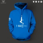 TMAC McGrady logo design men unisex pullover hoodie heavy hooded sweatshirt 100% organic cotton fleece inside Free Shipping