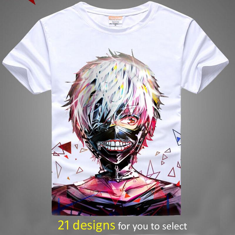 Tokyo ghoul digital printed hot anime tokyo ghoul t shirt for Digital printed t shirts