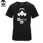 Top quality cotton short sleeve breaking bad print casual o-neck men heisenberg T shirt men's tee shirt T01