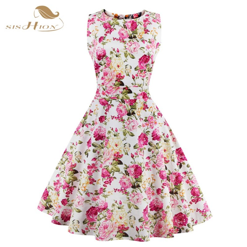 Summer 50s dresses