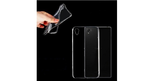 Ultra-thin crystal clear Transparent TPU Gel Soft Case Cover For Sony Xperia Z1 Z2