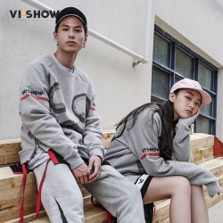 VIISHOW Men Hoodies Pullover Brand Clothes Tracksuit Mens Hoodies And Sweatshirt Couple Sweatshirt For Lovers Hip hop Streetwear