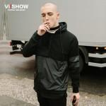 VIISHOW Mens Hoodies Sweatshirts Hip Hop Hoodie New Patchwork Jacket Streetwear Hiphop Men Clothes Fashion Chandal Hombre Marca
