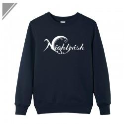 Winter Dress Hip Hop Pullover O-Neck Tracksuits Sportswear Men's Brand Nightwish Rock Band Printed Sweatshirt Large Size Blazer