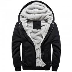 Winter Warm Hoodies Men Sweatshirts Brand BaseballUniform Sportswear Jacket Fleece Plus Size 5XL Hoodie jaqueta masculina Coat