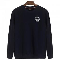 Winter think sweatshirt male o-neck pullover loose men plus size sweatshirt youth boy thermal plus velvet outerwear 3XL 4XL 5X