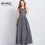 Women Form-fitting Long Summer Dress Chiffon Sleeveless Slip Maxi Dress High Quality Holiday Sundress MIEGOFCE New Arrival Hot