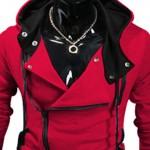 YM New fation Brand Men's Zipper Coat Long Sleeve Sweatshirt Hoodie Male Jackets Cotton Suit For Men Winter Autumn W20 Plus Size