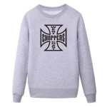 hot sale winter style cotton west choppers  long sleeved o-neck mans sweatshirt hoodies SKELETON MOTORCYCLE RIDER