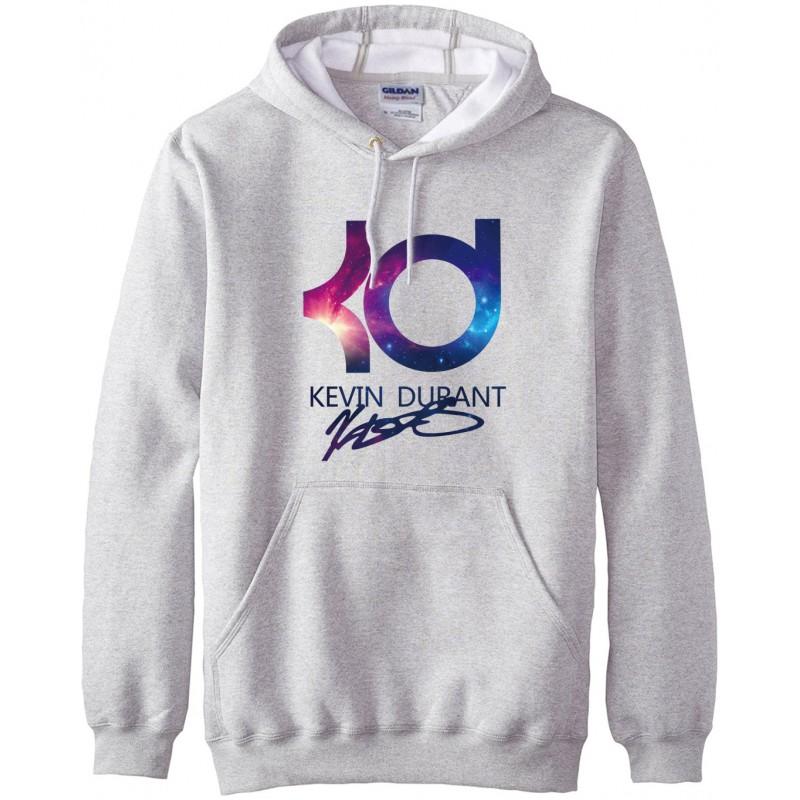 ee284584 kevin durant KD logo print fashion hoodies men autumn winter warm men  sweatshirt 2016 new fleece ...