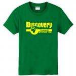new 2017 free shipping fashion national geographic discovery channel networks asia sitcoms men male man short-sleeve T-shirt