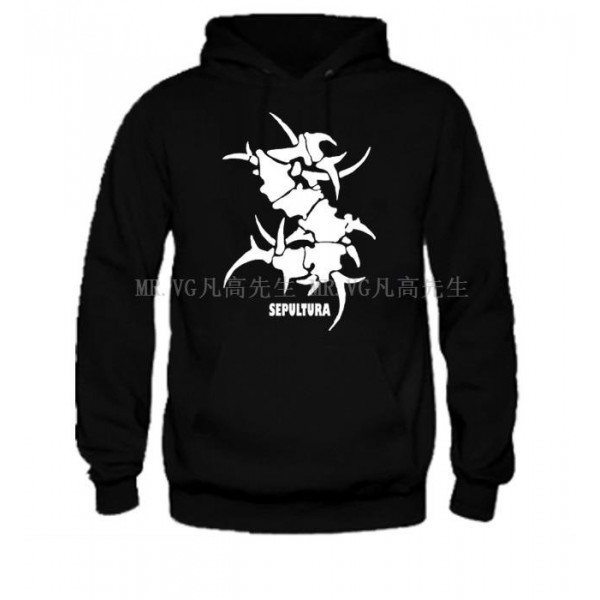 new 2017 free shipping hot selling autumn winter man men male rock band sepultura skateboard brand Pullover Hoodie sweatshirt