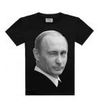 no russia 2016 fashion men`s t shirt 100% cotton well print president t shirt men asian size:S-XXXL leisure tee male P002