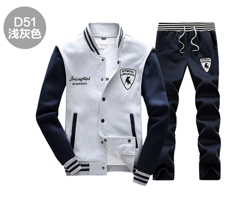 2016-Autumn-Men39s-Baseball-SportSuit-Sweatshirts-Patchwork-Long-Sleeve-Men-Hoodies-Stand-Collar-Mal-32716659543