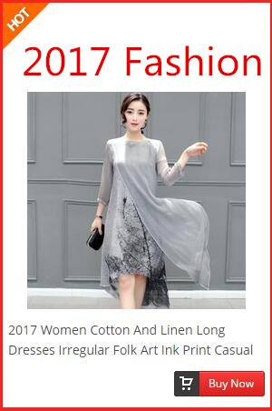2017--New-2-Peices-China-Wind-Cheongsam-Loose-Waist-Printing-Ink-Seven-Sleeve-Two-Piece-Dress-32649380429
