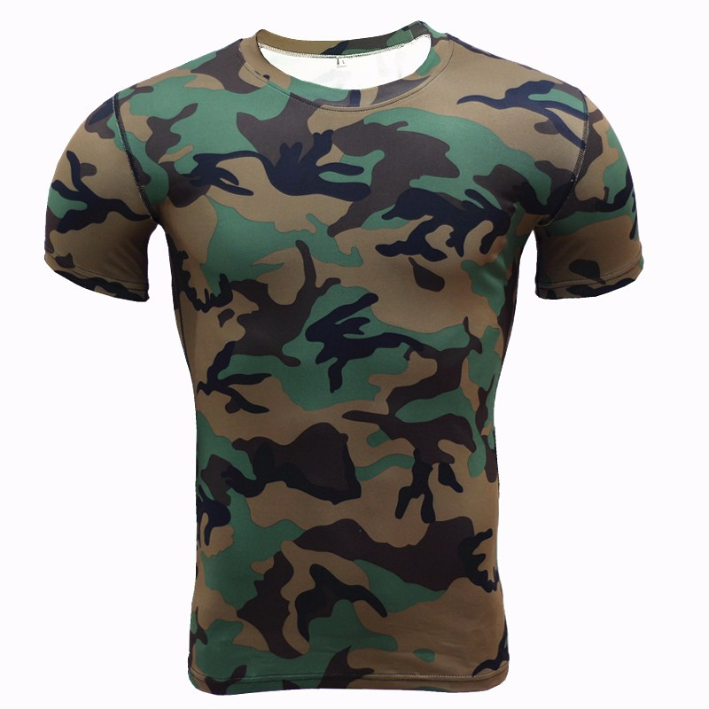 2017-Base-Layer-Camouflage-T-Shirt-Fitness-Tights-Quick-Dry-Shirts-Tops-amp-Tees-Crossfit-Compressio-32662472507