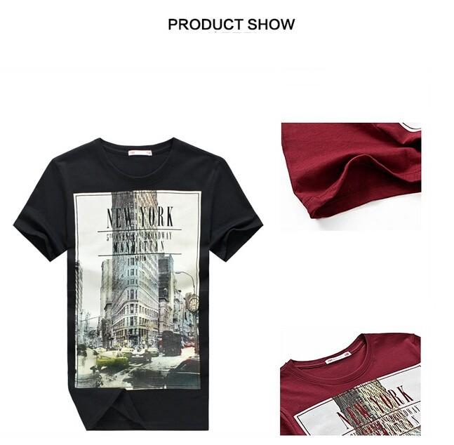 31a7e5ac2dc0 E-BAIHUI Brand t shirt mens t shirts t shirt casual tops tees ...