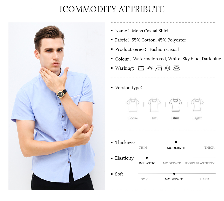 Fashion-Brand-Clothing-Mens-Short-Sleeve-Shirt-2018-Summer-New-Mandarin-Collar-Slim-Fit-Shirt-M-5XL--32795260803