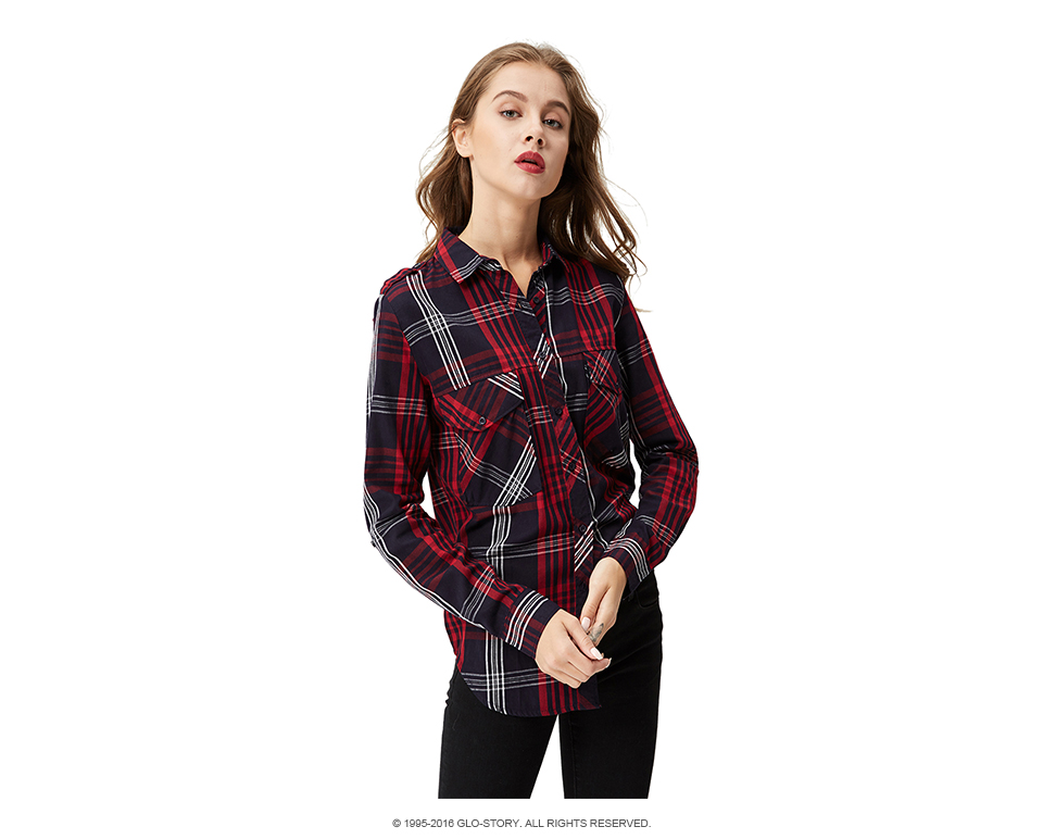 GLO-STORY-Women-Plaid-Blouse-2018-Fashion-Casual-Women-Clothing-Long-Sleeve-Office-Check-Shirts-Blou-32695075349