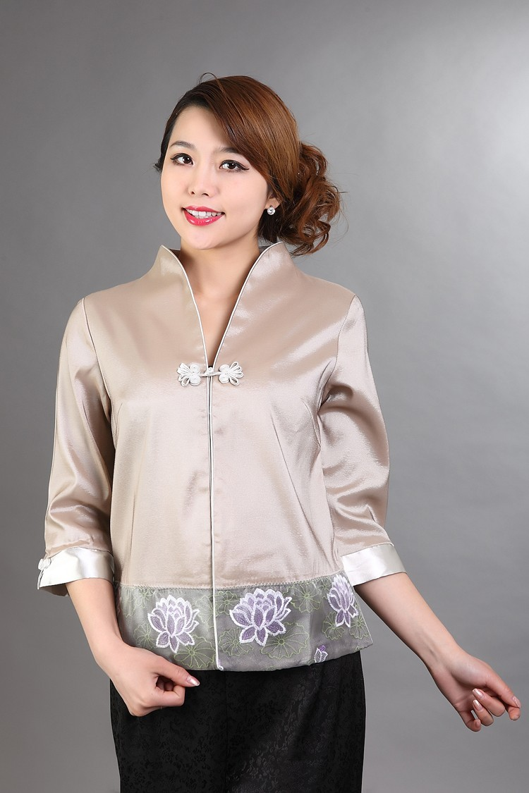 Hot-Sale-Gray-Traditional-Chinese-style-Blouse-Ladies39-Satin-V-Neck-Shirt-Tops-Mujer-Camisa-Flower--32490583914