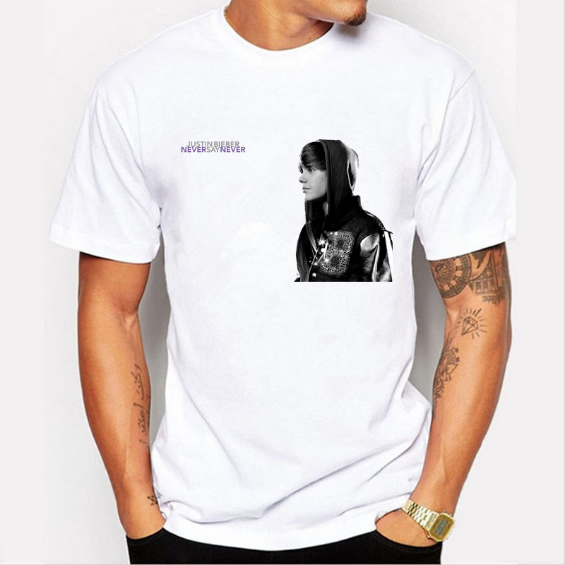 Justin-bieber-T-Shirt-MenWomen-Hip-Hop-hole-Sleeve-O-neck-T-Shirt-Tee-Brand-clothing-personality-des-32772963109