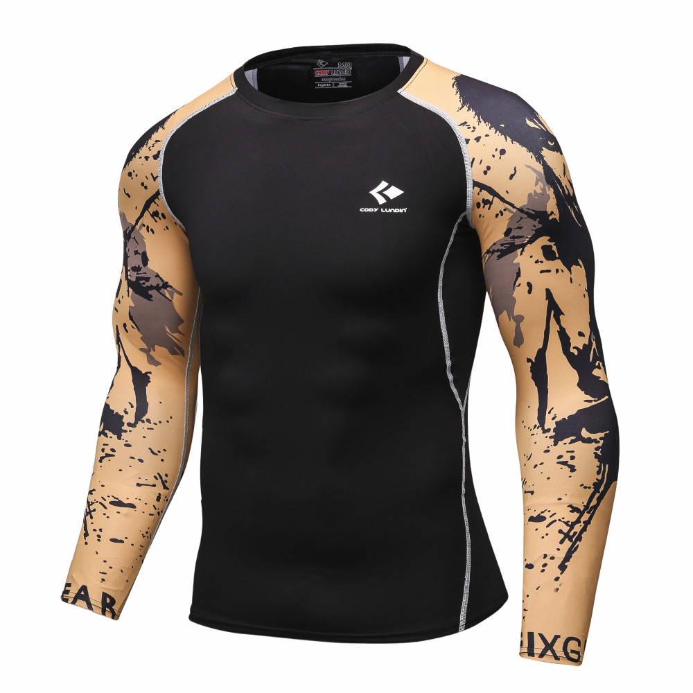 Men-Compression-Shirts-MMA-Rashguard-Keep-Fit-Fitness-Long-Sleeves-Base-Layer-Skin-Tight-Weight-Lift-32780929385