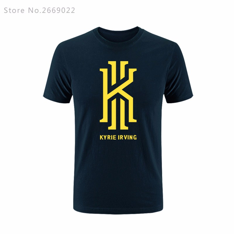 New-Summer-fashion-Kyrie-Irving-Logo-men39s-Tees-top-high-quality-Tshirts-warm-clothes-T-Shirts-Free-32780829292