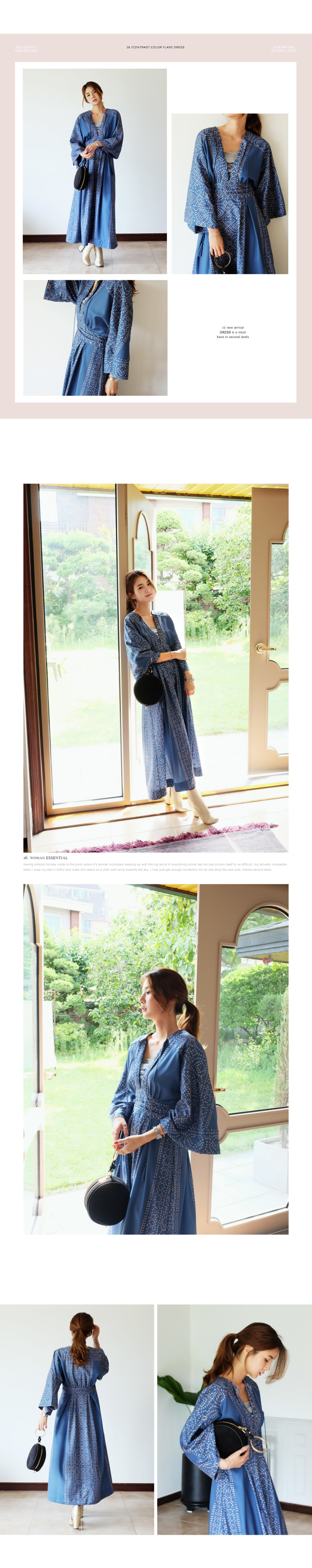 New-retro-blue-long-dress-V-neck-sweet-vintage-loose-slim-maxi-blue-dress-printing-elegant-holiday-l-32738597192
