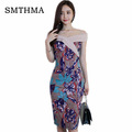 SMTHMA-2017--Women-vestidos--Belted-Elegant-Pinup-Celebrity--bowknot-Colorblock-Bodycon-Pleuche--Eve-32251516904