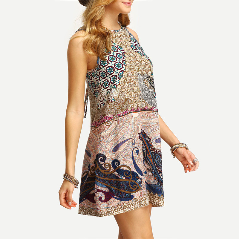 SheIn-Women-New-Dress-2016-Summer-Ladies-Multicolor-Round-Neck-Sleeveless-Vintage-Tribal-Print-V-Bac-32671444849