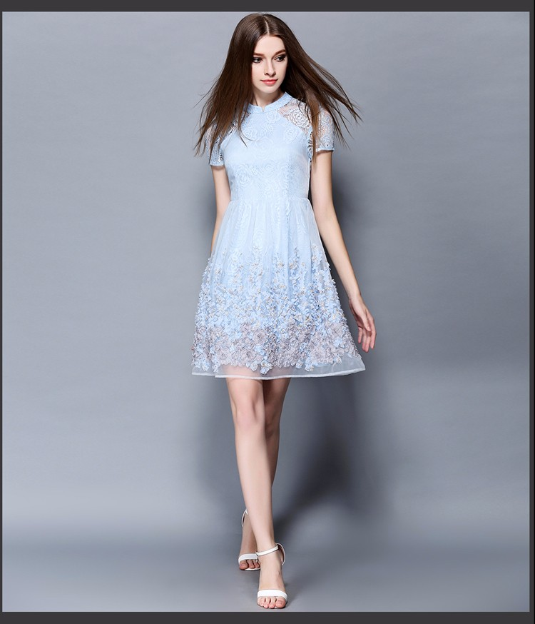 Summer-OL-gentlewoman-Shoulder-Hollow-out-Dress-crochet-rose-lace-stand-collar-slim-princess-dress-W-32707780755