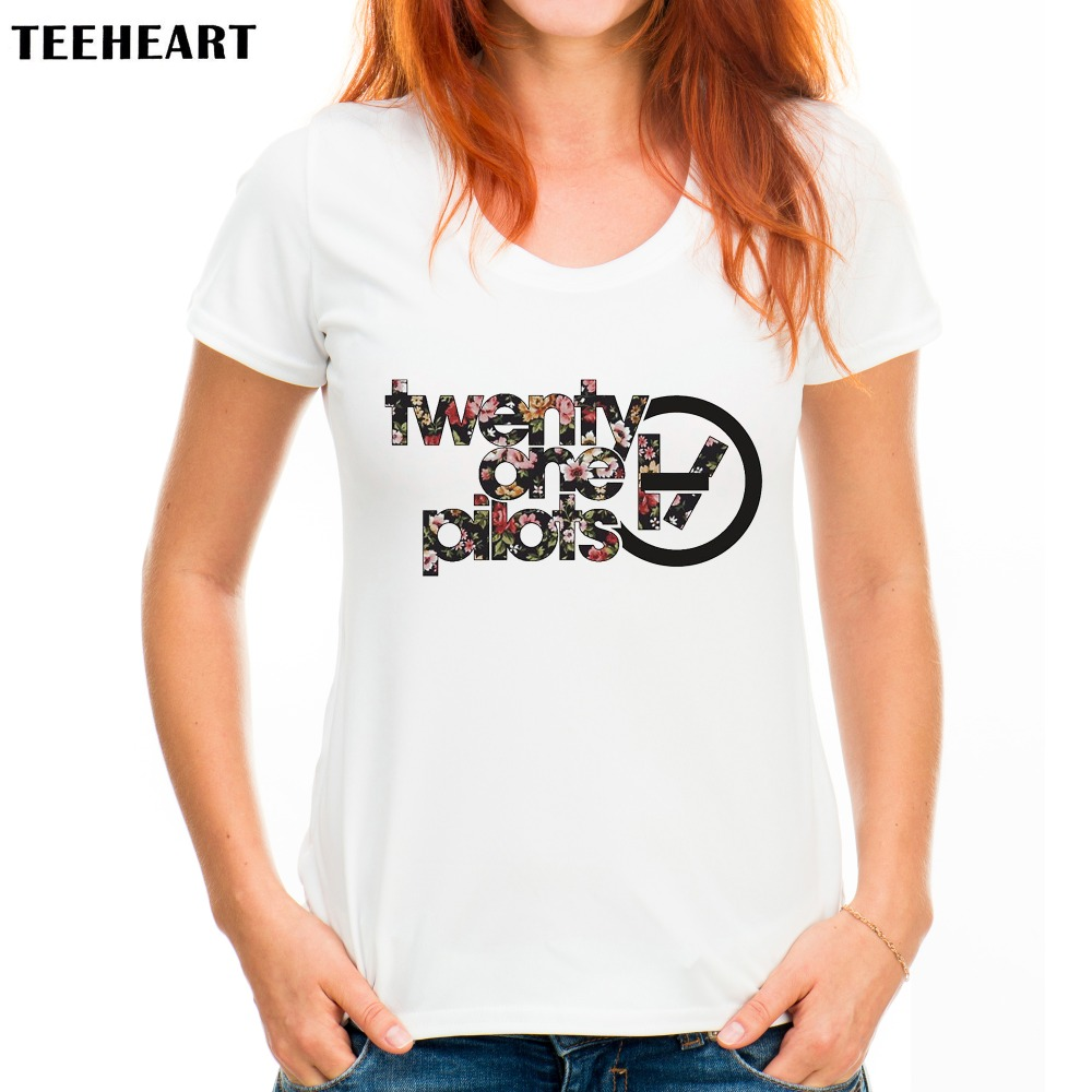 Teeheart Summer Twenty One Pilots Fitness Woman T Shirts 21 Pilots