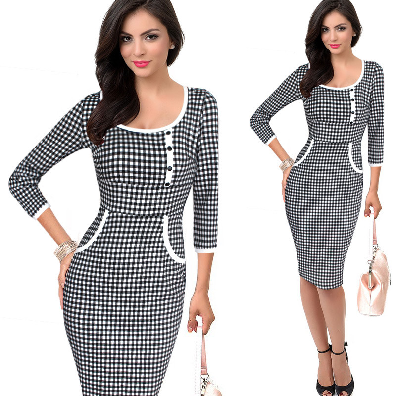 Vfemage-Womens-Elegant-Vintage-Rockabilly-Polka-Dot-Button-Tunic-Wear-to-Work-Office-Business-Casual-32614350000