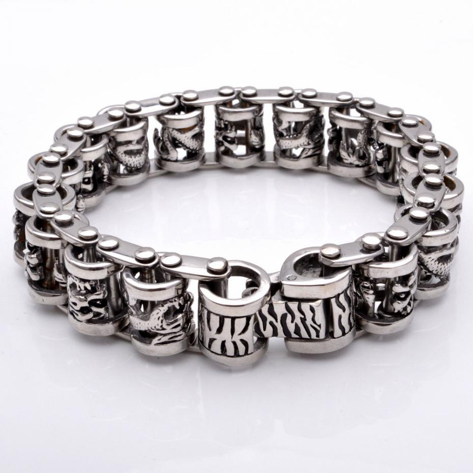 Vintage-Punk-316l-Stainless-Steel-Dragon-Bracelets-For-Men-Jewelry-With-Twisted-Cable-Bangle-Mens-Ac-32652765198