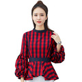 Women-Blouse-2017-Brand-Fashion-Loose-Puff-Long-Sleeve-Stand-Collar-Cotton-Tops-Clothings-Ladies-Vin-32666203617
